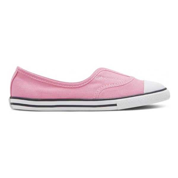 Candy pink  kanvas slip on sko fra Coverse