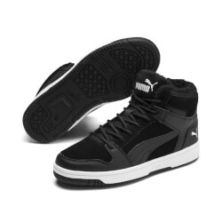 Puma - Rebound Junior m/Foer Black