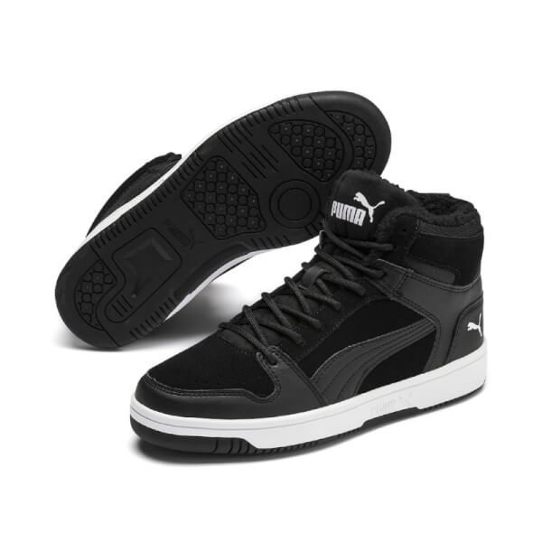Image of   Puma - Rebound Junior m/Foer Black