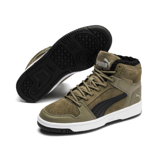 Image of   Puma - Rebound Junior m/Foer Burnt Olive