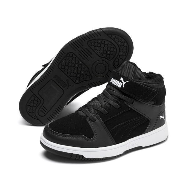 Image of   Puma - Rebound m/Foer Black Kids