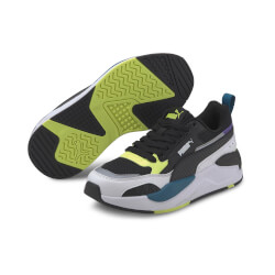 Puma - X-ray 2 Square JR Black/Yellow