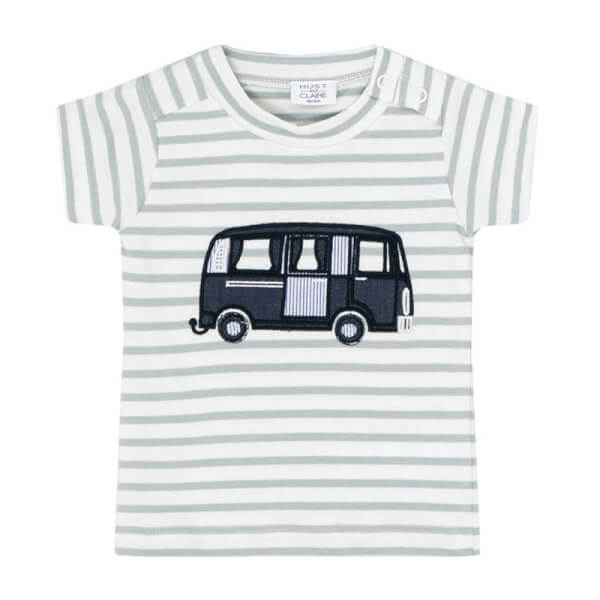 Image of Hust & Claire - T-shirt Dusty green