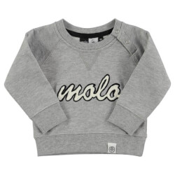 Super fed molo sweatshirt med logo