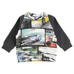 Smart Video race sweatshirt fra Molo med video spil