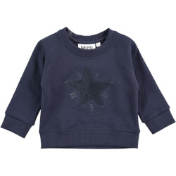 Super smart sweatshirt fra Molo - Dines