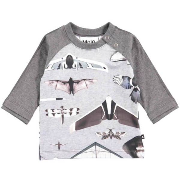Image of Molo - Elton T-shirt Planes and Birds