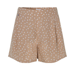 Rosemunde - Shorts Tan Dot