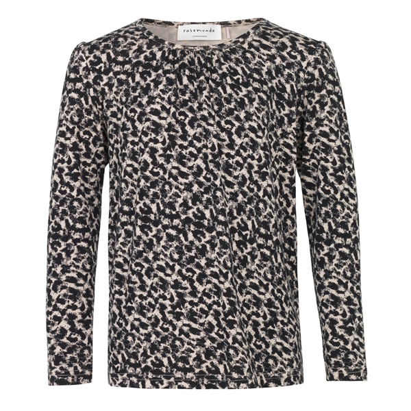 Rosemunde - Bluse Cacao Leopard Print