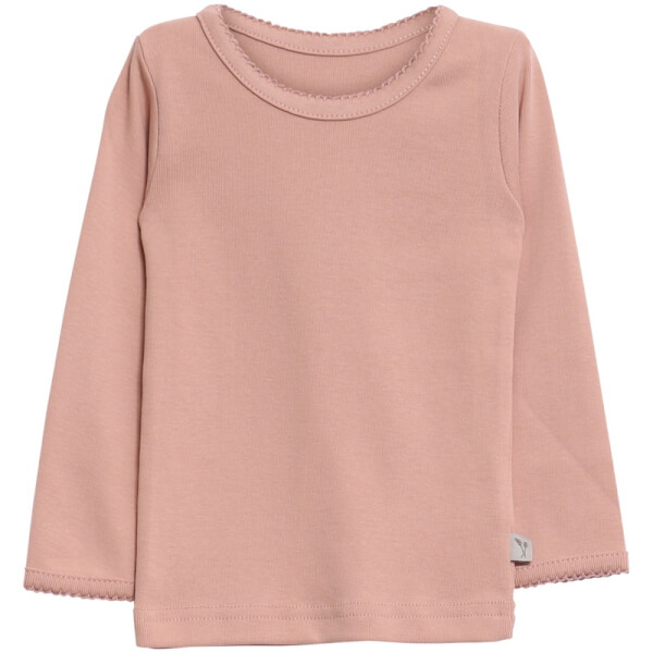 Wheat - Basic Girl T-Shirt Rose