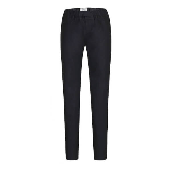 Sorte jeggings i coated model fra D-XEL