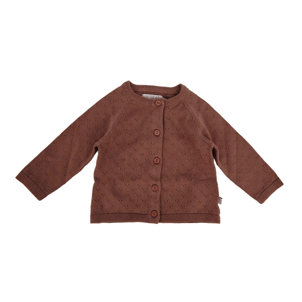 Wheat - Cardigan Maja Powder Plum