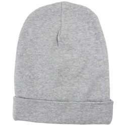 Smart beanie fra Nordic Label - Grey melange