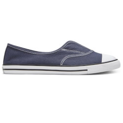Fede slipon i navy kanvas fra Converse All Star