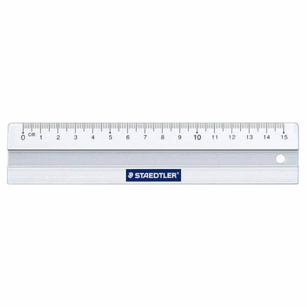 Staedtler - Aluminiums Lineal 15 cm