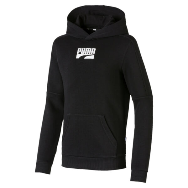 Image of   Puma - Rebel Block Hoodie Black