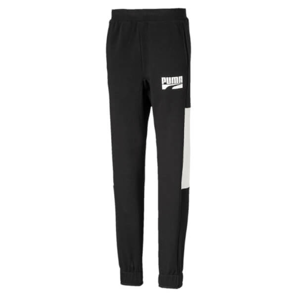 Image of   Puma - Rebel Block Sweatpants Black