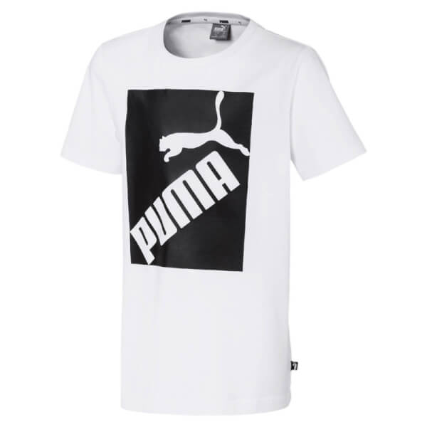 Image of   Puma - Big Logo T-shirt Hvid