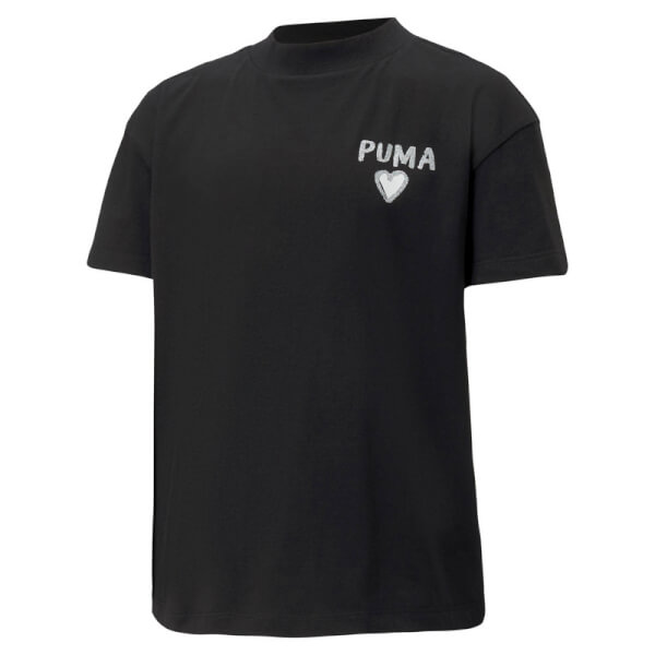 Image of   Puma - Alpha Trend T-shirt Sort