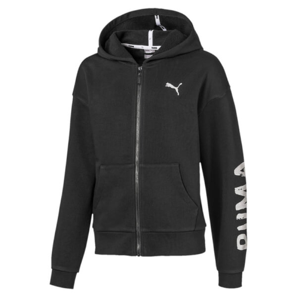 Image of   Puma - Alpha Sweat Jakke Sort