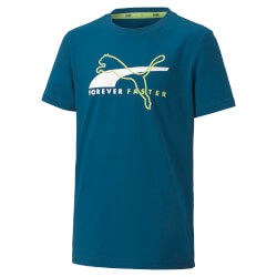 Puma - Alpha Graphic T-shirt Blue