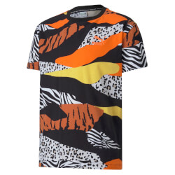 Puma - Classics Wild T-shirt Black Animal