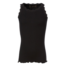 Rosemunde - Silke Top Black