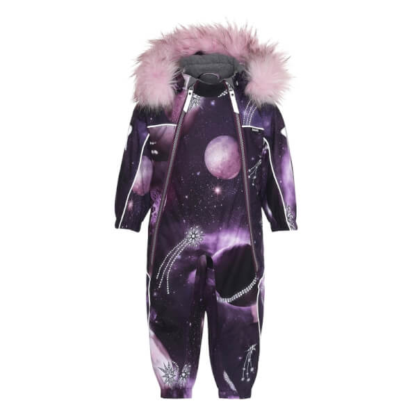 Image of Molo - Pyxis Faux Fur Flyverdragt Shooting Stars