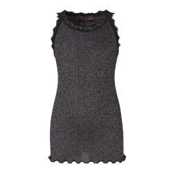 Rosemunde - Silke Top Lurex Black Silver Shine