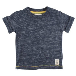 Vildt smart navy melange T-shirt fra Small Rags