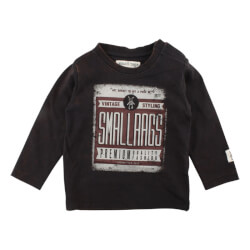 Smart t-shirt med vintage print fra Small Rags