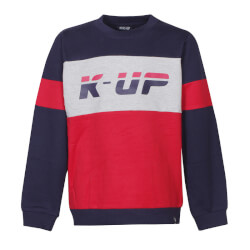 Smart sweatshirt med motiv fra Kids Up - Eagly 27