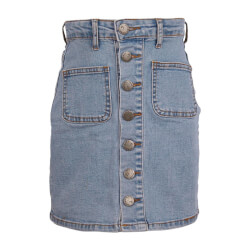 Hound Pige - Light Denim Nederdel