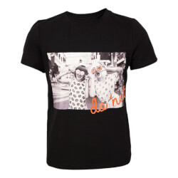 Hound Pige - Picture Print T-shirt Black