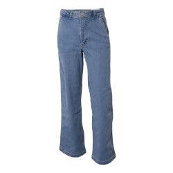 Hound Pige - Wide Jeans Medium Blue Used