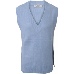 Hound Pige - Strik Vest Light Blue