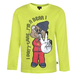 Kids Up Dreng - Lime Ferre T-shirt