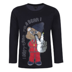 Kids Up Dreng - Navy Ferre T-shirt