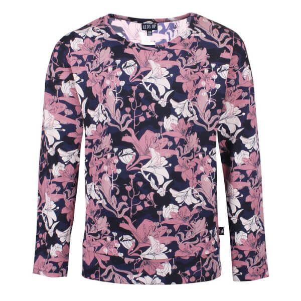 Image of Kids Up - Raine Bluse Pink Flower