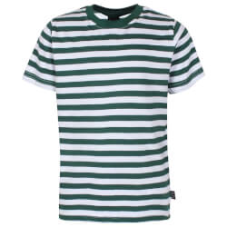 Kids Up - T-shirt Huey Green Stripes