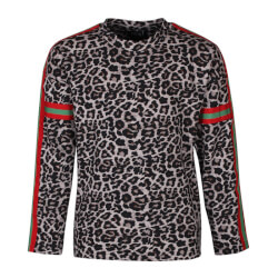 Super fin bluse med leopardprint fra Kids Up 7602759-0900