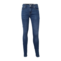 Hound Pige - Dark Blue Used Tube Jeans