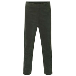 Rosemunde - Velour Bukser Dark Green