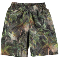 Seje all-over-printet badeshorts fra Molo model North med Camo Palms print