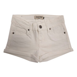 Smarte hvide korte shorts fra Add to Bag