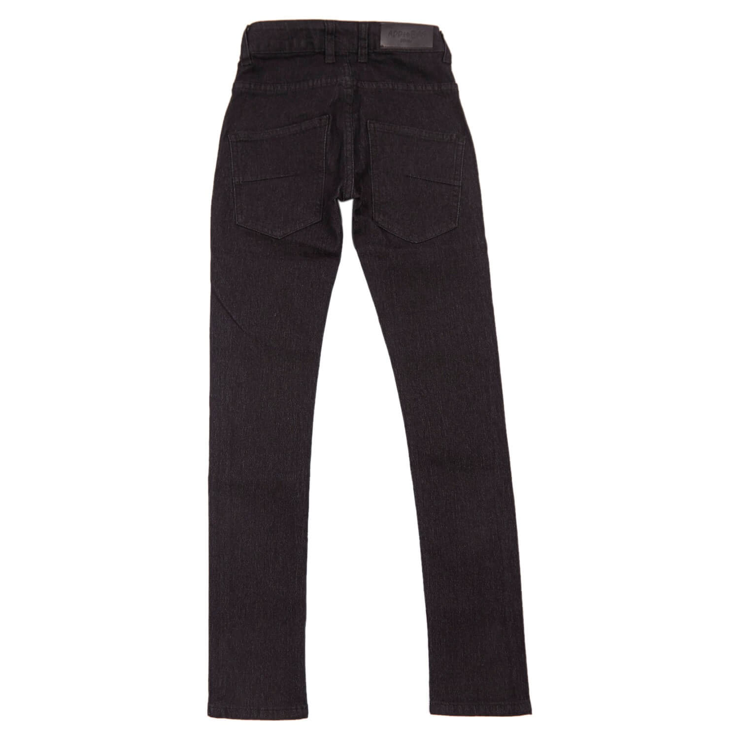 Narrow jeans i sort fra Add to Bag teen drenge bukser 4160811-833-black