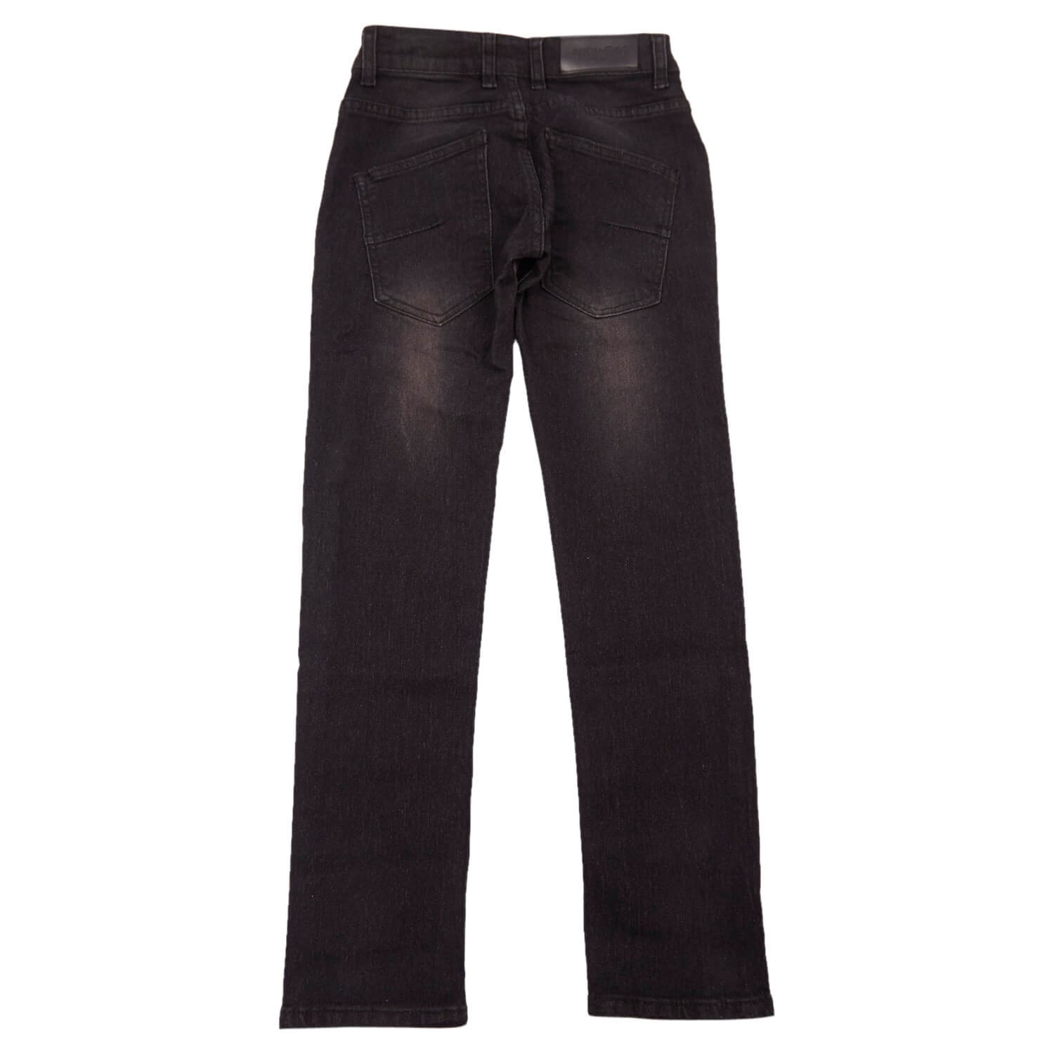 Regular jeans i sort fra Add to Bag 4990006-834 set bagfra