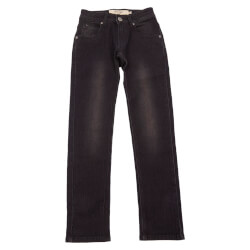 Smarte regular jeans fra Add to Bag 4990006-834-BLACK set forfra