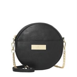 Rosemunde - Cross Body Taske Vegan Black Gold