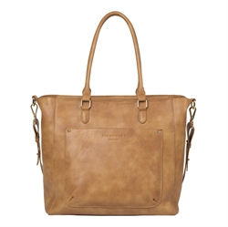Rosemunde - Shopper Nutbrown Golden Gold